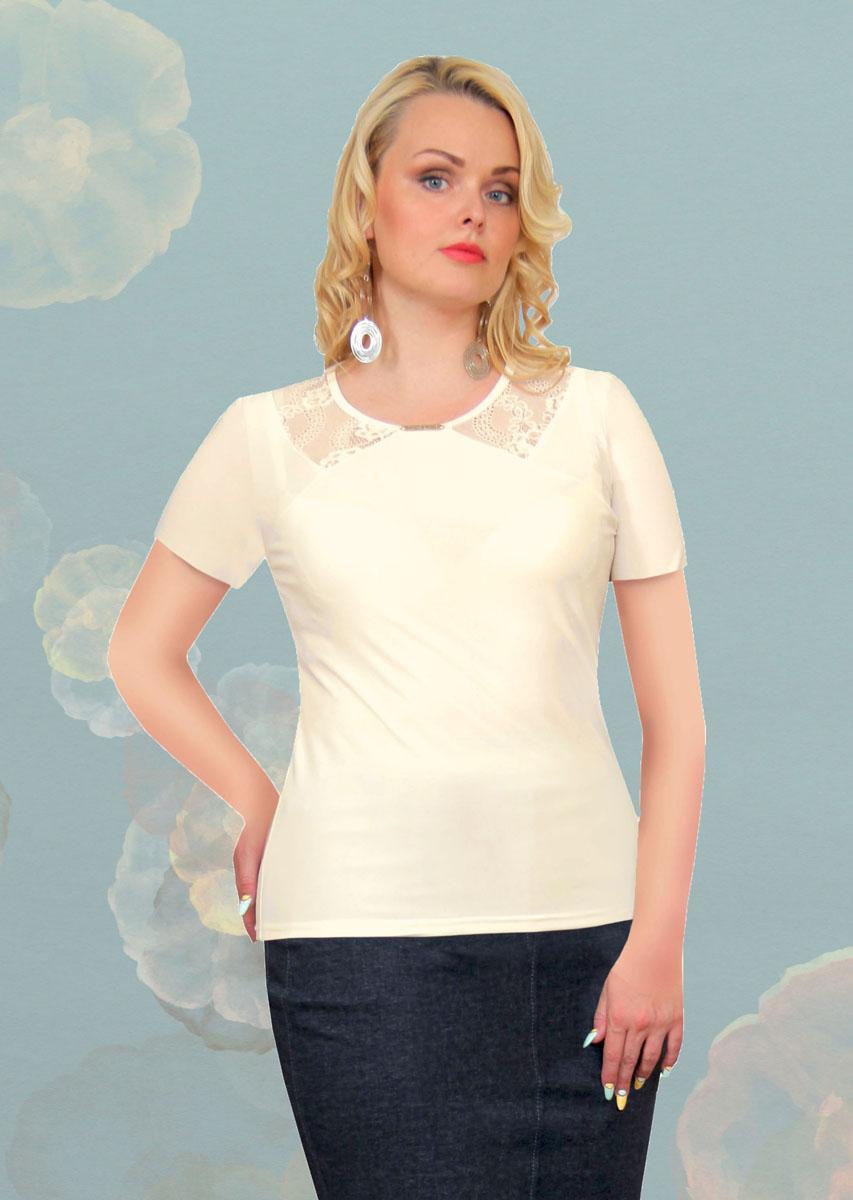 887мСтильная женская блузка Milana Style, выполненная из качественного материала, подчеркнет ваш уникальный стиль и поможет создать женственный образ. Модель с короткими рукавами и круглым вырезом горловины оформлена вставками из гипюра. Вырез горловины украшен оригинальным декоративным элементом. Такая блузка будет дарить вам комфорт в течение всего дня и послужит замечательным дополнением к вашему гардеробу.