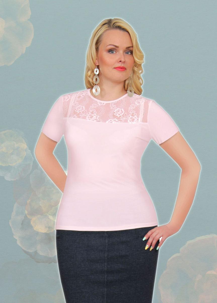 Блузка женская. 889м889мСтильная женская блузка Milana Style, выполненная из качественного материала, подчеркнет ваш уникальный стиль и поможет создать женственный образ. Модель с короткими рукавами и круглым вырезом горловины оформлена вставкой из гипюра. Такая блузка будет дарить вам комфорт в течение всего дня и послужит замечательным дополнением к вашему гардеробу.