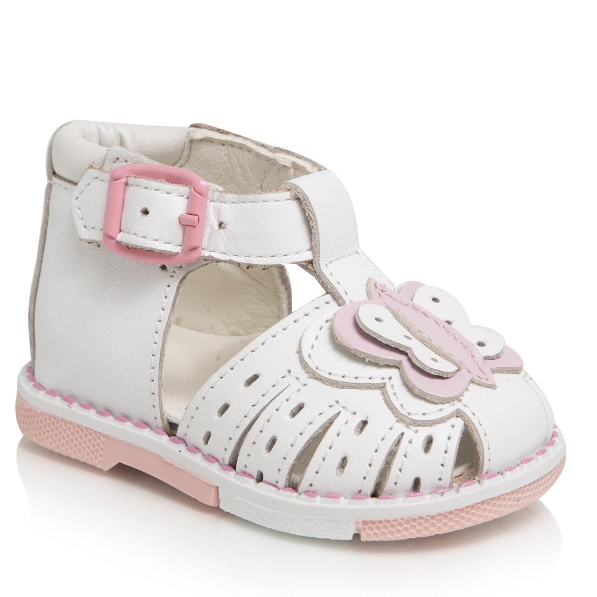 Сандалии для девочек. 106-005106-005ТАШИ ОРТО - детская профилактическая ортопедическая обувь массового производства. Ее можно носить не только детям с признаками плоскостопия и косолапия , но и для профилактики подобных отклонений. А многим детям ортопедическая обувь НЕОБХОДИМА для коррекции стопы, исправления походки и осанки.