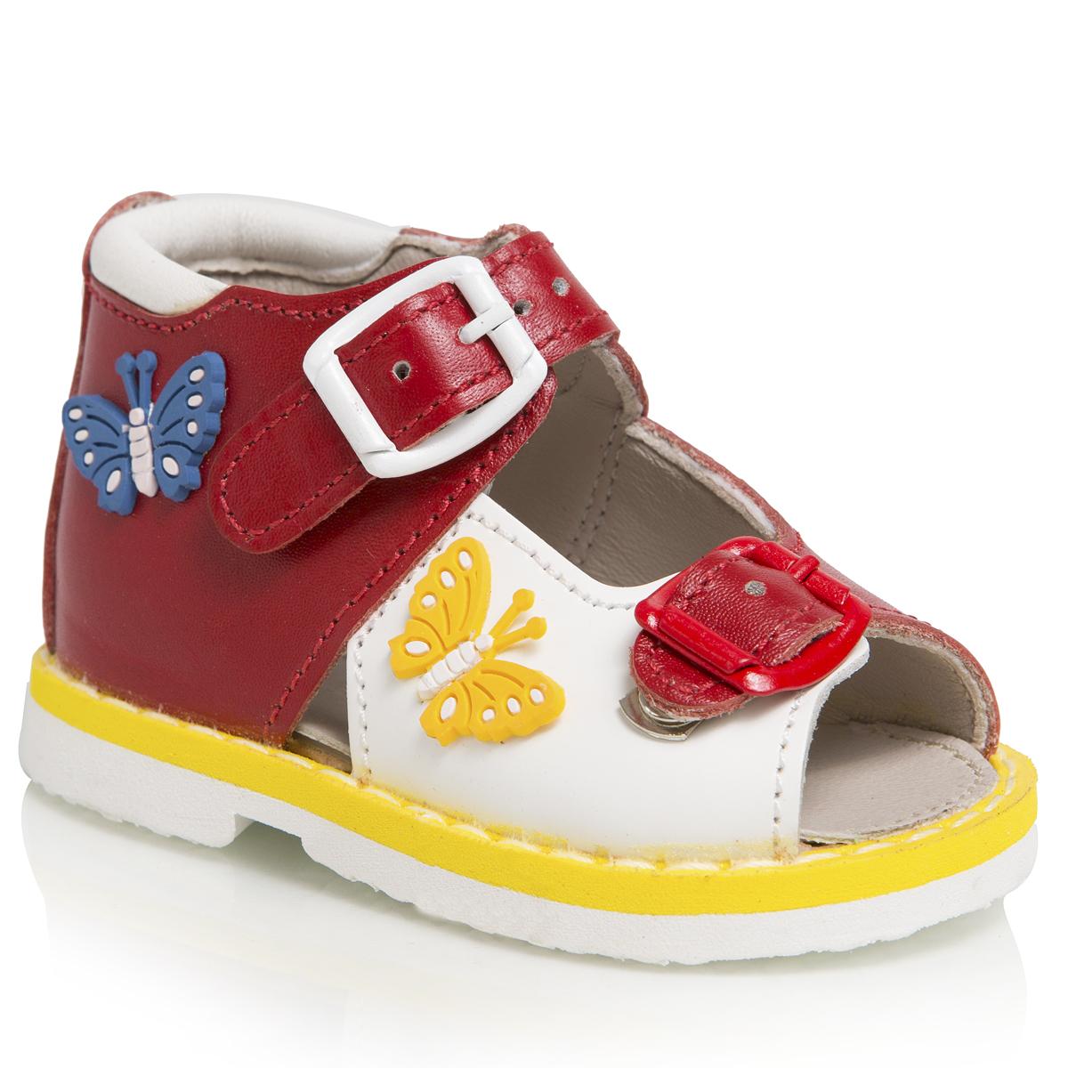 Сандалии для девочек. 119-118119-118ТАШИ ОРТО - детская профилактическая ортопедическая обувь массового производства. Ее можно носить не только детям с признаками плоскостопия и косолапия , но и для профилактики подобных отклонений. А многим детям ортопедическая обувь НЕОБХОДИМА для коррекции стопы, исправления походки и осанки.