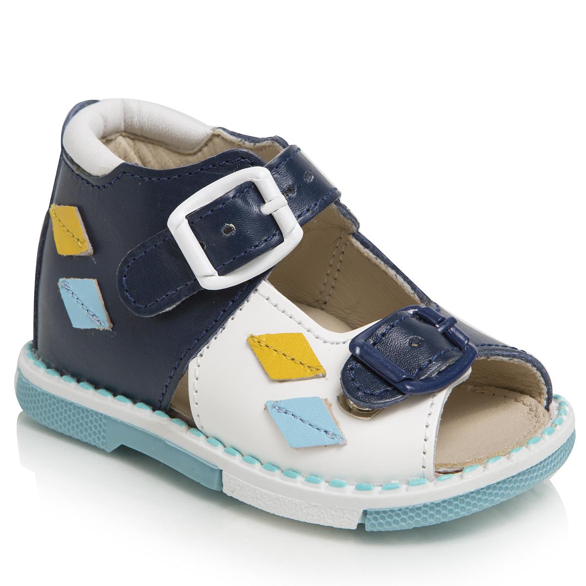 Сандалии для мальчиков. 119-121119-121ТАШИ ОРТО - детская профилактическая ортопедическая обувь массового производства. Ее можно носить не только детям с признаками плоскостопия и косолапия , но и для профилактики подобных отклонений. А многим детям ортопедическая обувь НЕОБХОДИМА для коррекции стопы, исправления походки и осанки.
