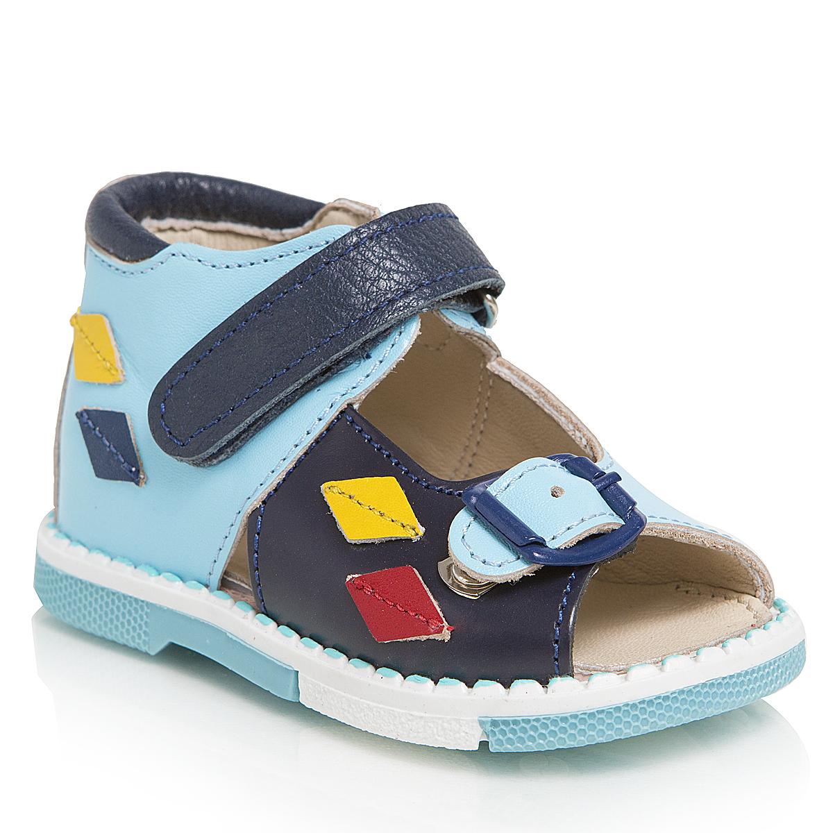 Сандалии для мальчиков. 129-181129-181ТАШИ ОРТО - детская профилактическая ортопедическая обувь массового производства. Ее можно носить не только детям с признаками плоскостопия и косолапия , но и для профилактики подобных отклонений. А многим детям ортопедическая обувь НЕОБХОДИМА для коррекции стопы, исправления походки и осанки.
