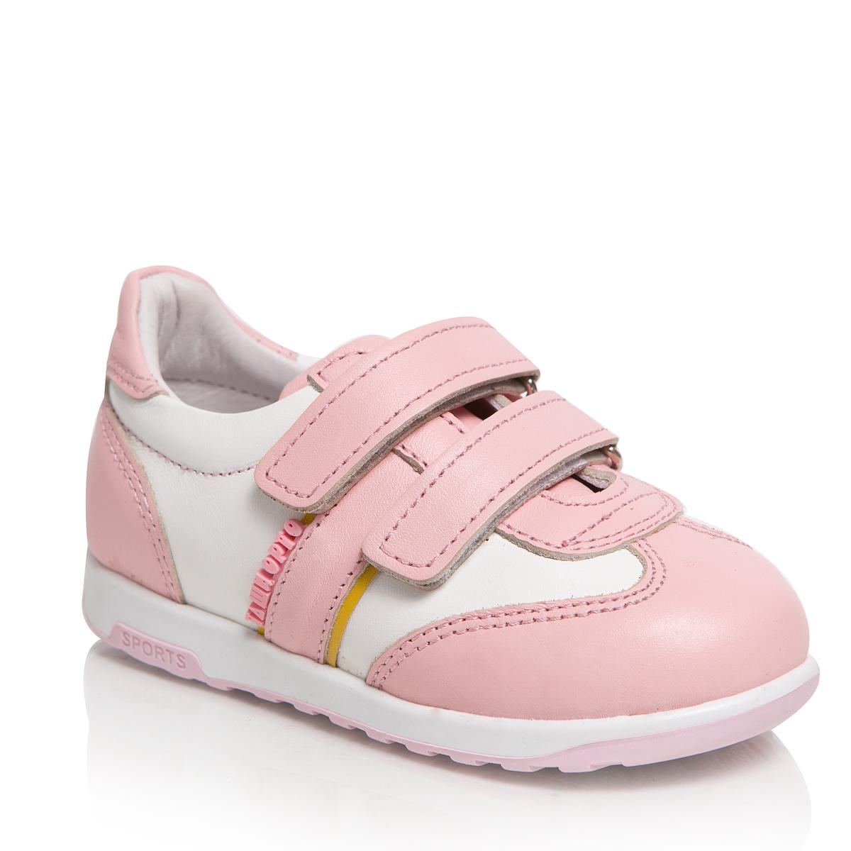Кроссовки для девочек. 271-09271-09ТАШИ ОРТО - детская профилактическая ортопедическая обувь массового производства. Ее можно носить не только детям с признаками плоскостопия и косолапия , но и для профилактики подобных отклонений. А многим детям ортопедическая обувь НЕОБХОДИМА для коррекции стопы, исправления походки и осанки.