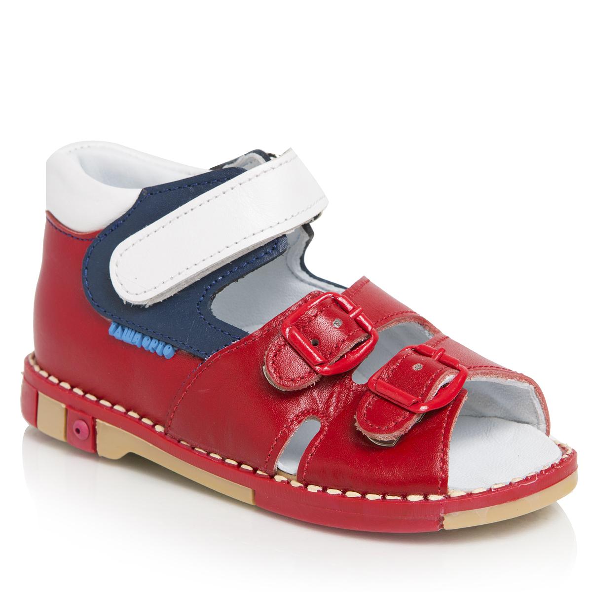 Сандалии унисекс. 301-21301-21ТАШИ ОРТО - детская профилактическая ортопедическая обувь массового производства. Ее можно носить не только детям с признаками плоскостопия и косолапия , но и для профилактики подобных отклонений. А многим детям ортопедическая обувь НЕОБХОДИМА для коррекции стопы, исправления походки и осанки.