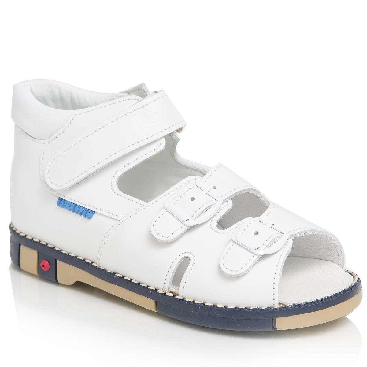 Сандалии унисекс. 401-06401-06ТАШИ ОРТО - детская профилактическая ортопедическая обувь массового производства. Ее можно носить не только детям с признаками плоскостопия и косолапия , но и для профилактики подобных отклонений. А многим детям ортопедическая обувь НЕОБХОДИМА для коррекции стопы, исправления походки и осанки.