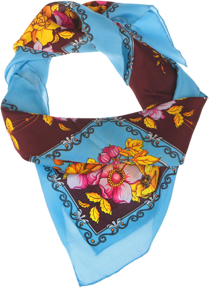 1801429Нежный шелковый платок Venera станет нарядным аксессуаром, который призван подчеркнуть индивидуальность и очарование женщины. Оригинальный цветочный дизайн полотна добавит изысканности и привлечёт всеобщее внимание. Края платка качественно обработаны вручную. Этот модный аксессуар женского гардероба гармонично дополнит образ современной женщины, следящей за своим имиджем и стремящейся всегда оставаться стильной и элегантной.