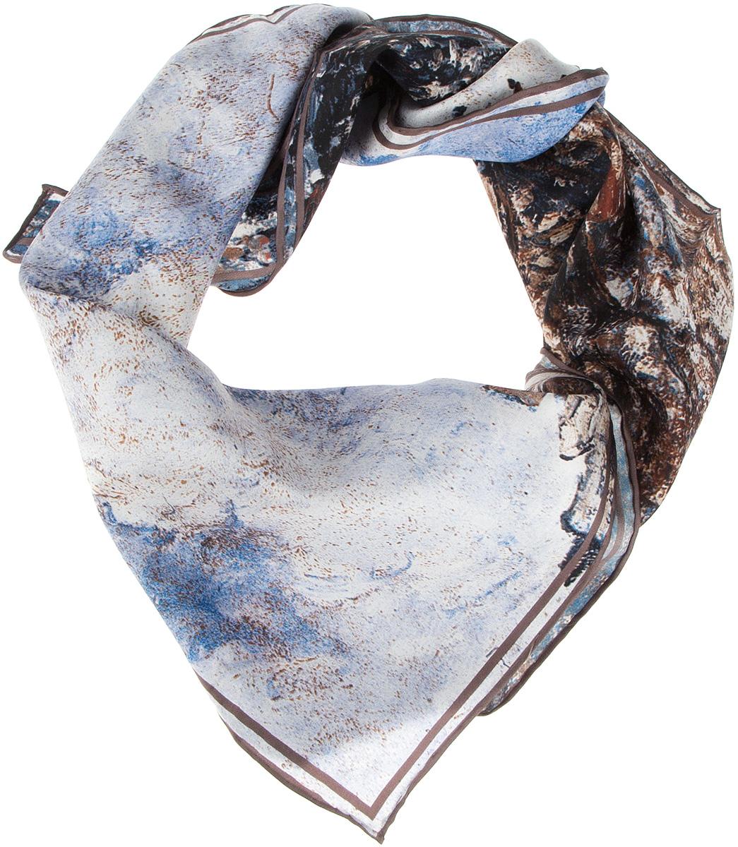 Платок1810912-6Нежный шелковый платок Venera станет нарядным аксессуаром, который призван подчеркнуть индивидуальность и очарование женщины. Оригинальный дизайн полотна с изображением картины Камиля Писсаро Бульвр Монмартр привлечёт всеобщее внимание. Края платка качественно обработаны вручную. Этот модный аксессуар женского гардероба гармонично дополнит образ современной женщины, следящей за своим имиджем и стремящейся всегда оставаться стильной и элегантной.