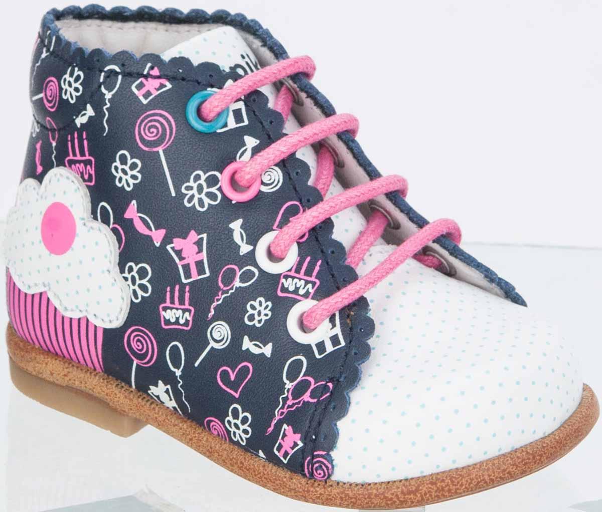 Ботинки для девочек. 10106-210106-2