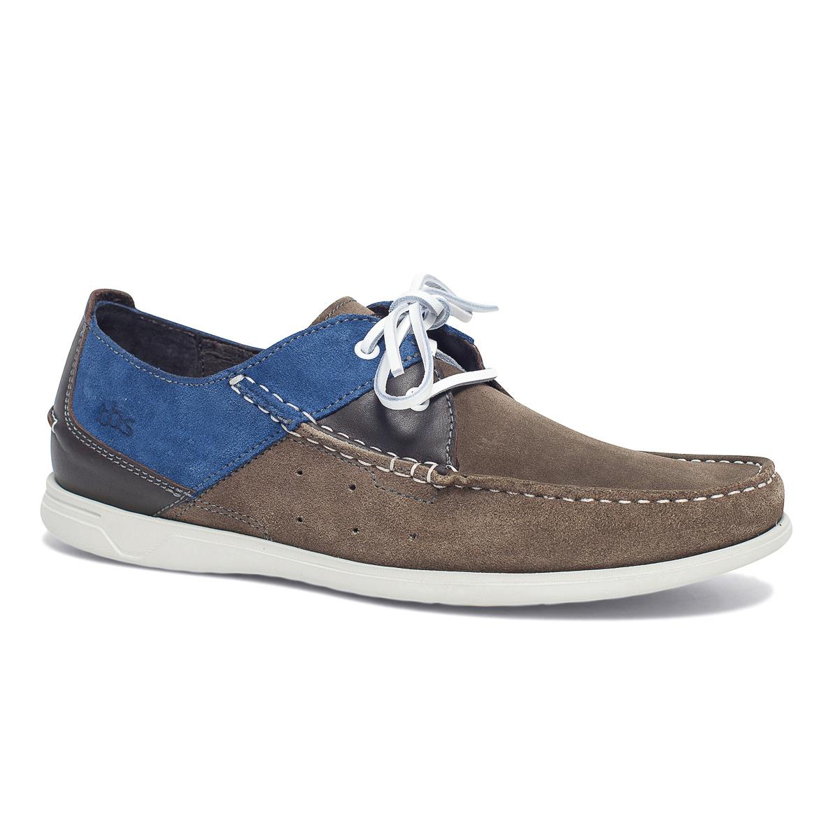 Топсайдеры мужские. FORTYE-6823FORTYE-6823Стильные мужские ботинки, комфортно и уверенно сидят на ноге, мысок прострочен, по бокам модель украшена декоративным шнурком. Верх модели регулируется шнуровкой.