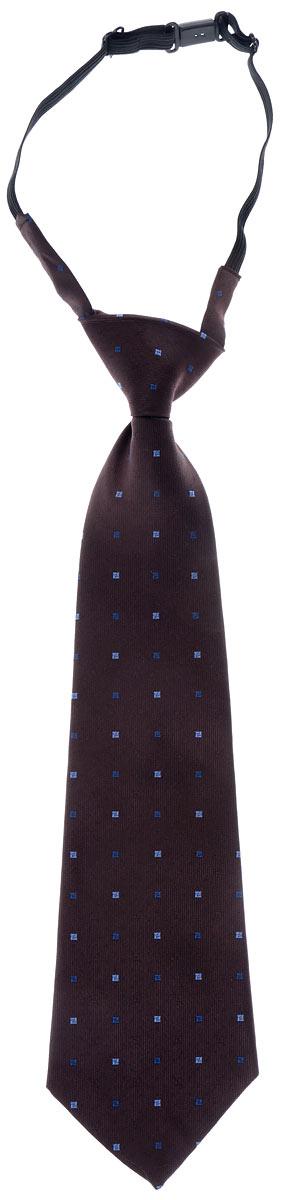 Галстук для мальчика. № 10№ 10Длинный галстук для мальчика Tsarevich, выполненный из 100% полиэстера, идеально подойдет вашему юному моднику. Галстук дополнен резинкой с пластиковой защелкой. Длина резинки регулируется. Оформлено изделие мелким принтом. Такой стильный аксессуар является оптимальным завершением образа.
