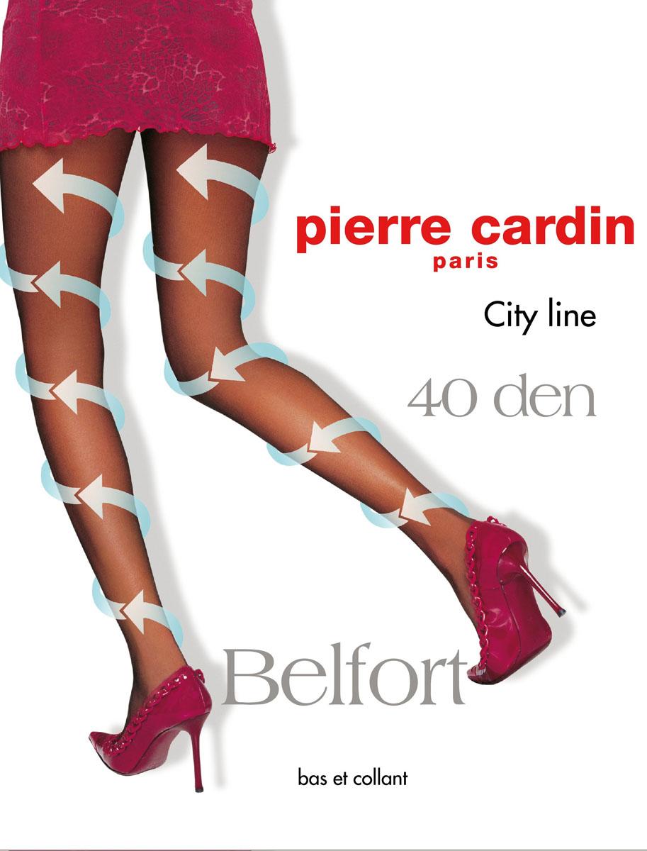 Колготки Belfort 40Cr Belfort 40Стильные классические колготки Pierre Cardin Belfort, изготовленные из эластичного полиамида с добавлением хлопка, идеально дополнят ваш образ. Шелковистые, однородные по всей длине колготки легко тянутся, что делает их удобными в носке. Гладкие и мягкие на ощупь, они имеют комфортные швы, гигиеническую ластовицу из хлопка, укрепленный прозрачный мысок и отформованную пятку. При носке модель оказывает микромассажный, антицеллюлитный эффект. Благодаря градуированному давлению на ногу, активизируется циркуляция крови. Резинка на поясе обеспечивает комфортную посадку. Идеальное облегание и комфорт гарантированы при каждом движении.