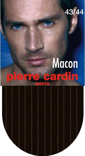 НоскиCr MaconКлассические мужские носки Pierre Cardin изготовлены из высококачественного хлопка с добавлением полиамида и эластомера, что обеспечивает комфортную посадку. Модель выполнена в элегантном однотонном дизайне с тиснением полосками, паголенок декорирован изображением логотипа бренда. Благодаря использованию тончайших волокон мерсеризированного хлопка, кожа в таких носках дышит. Двойная, широкая, эластичная резинка идеально облегает ногу и не пережимает сосуды.