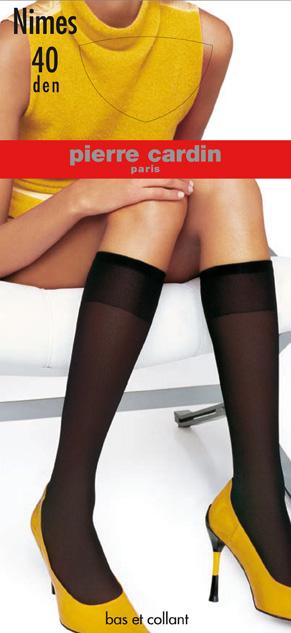 Cr NimesГольфы Pierre Cardin Nimes на шелковистой, эластичной основе с прозрачным мыском. Широкая эластичная резинка плотно облегает ногу, не сдавливая ее, обеспечивая комфорт и удобство.