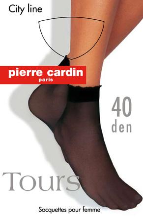 НоскиCr ToursЖенские носки Pierre Cardin изготовлены из полиамида с добавлением эластана, что обеспечивают великолепную посадку. Носочки эластичные, с укрепленным прозрачным мыском. Широкая резинка плотно облегает ногу, не сдавливая ее, обеспечивая комфорт и удобство.