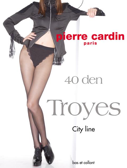 Колготки TroyesCr TroyesСтильные классические колготки Pierre Cardin Troyes, изготовленные из эластичного полиамида, идеально дополнят ваш образ. Шелковистые колготки легко тянутся, что делает их комфортными в носке. Гладкие и мягкие на ощупь, они имеют плоские швы, ластовицу из хлопка и укрепленный прозрачный мысок. Резинка на поясе обеспечивает комфортную посадку, а кружевные трусики делают модель элегантной и практичной. Идеальное облегание и комфорт гарантированы при каждом движении.