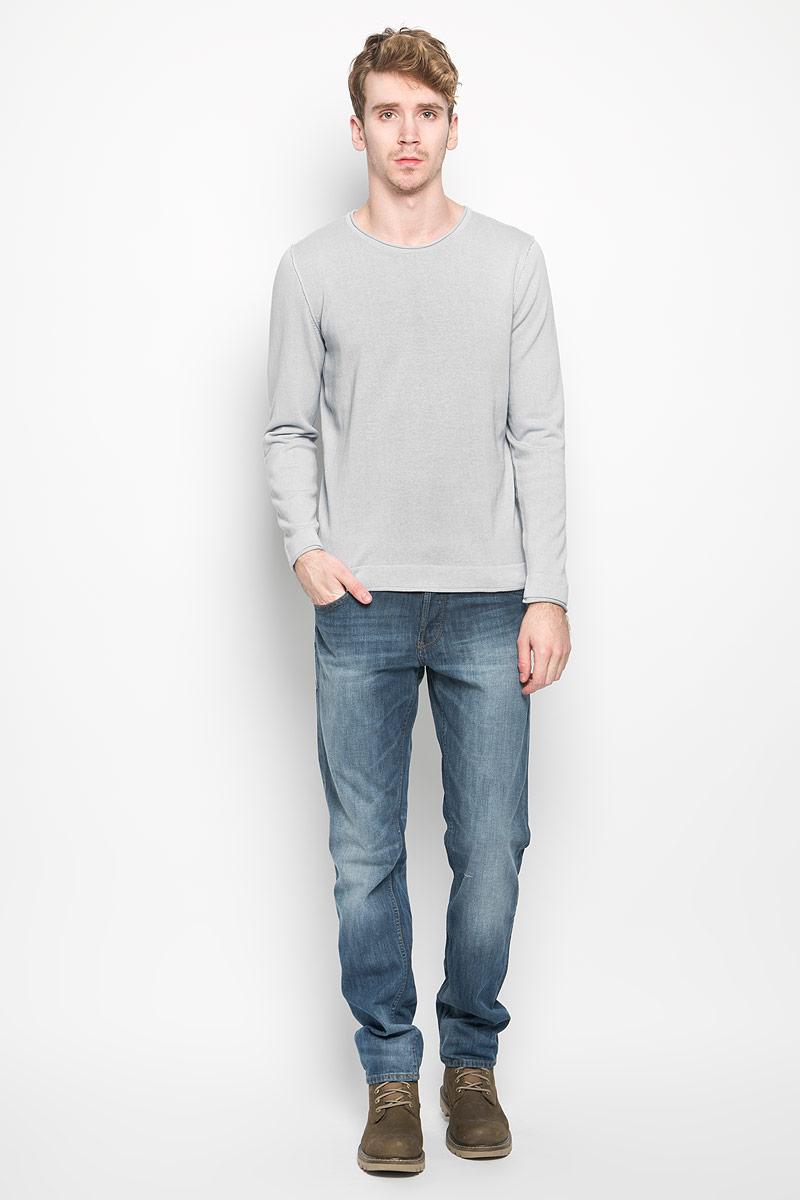 Пуловер мужской. 2010013720100137_545Мужской пуловер Broadway, выполненный из натурального хлопка, станет стильным дополнением к вашему гардеробу. Изделие очень мягкое и приятное на ощупь, не сковывает движения, позволяет коже дышать. Модель с длинными рукавами имеет круглый вырез горловины. Благодаря однотонной расцветке, пуловер прекрасно сочетается с любыми нарядами. Современный дизайн и расцветка делают этот пуловер модным предметом мужской одежды, в нем вы всегда будете чувствовать себя комфортно.