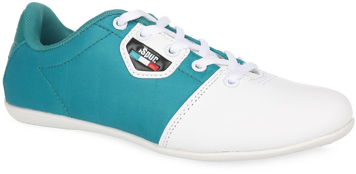 Кроссовки женские. SM2393_01_24_WHITESM2393_01_24_WHITEСтильные кроссовки от Spur придутся вам по душе. Модель выполнена из комбинации текстиля и искусственной кожи. Классическая шнуровка надежно зафиксирует обувь на ноге. Одна из боковых сторон в области подъема оформлена фирменной нашивкой, язычок - тиснением в виде названия бренда. Подкладка, изготовленная из текстиля, гарантирует уют и предотвращает натирание. Стелька из ЭВА материала с текстильным верхним покрытием обеспечит комфорт. Подошва оснащена рифлением для лучшего сцепления с поверхностями. Модные кроссовки займут достойное место среди коллекции вашей спортивной обуви.
