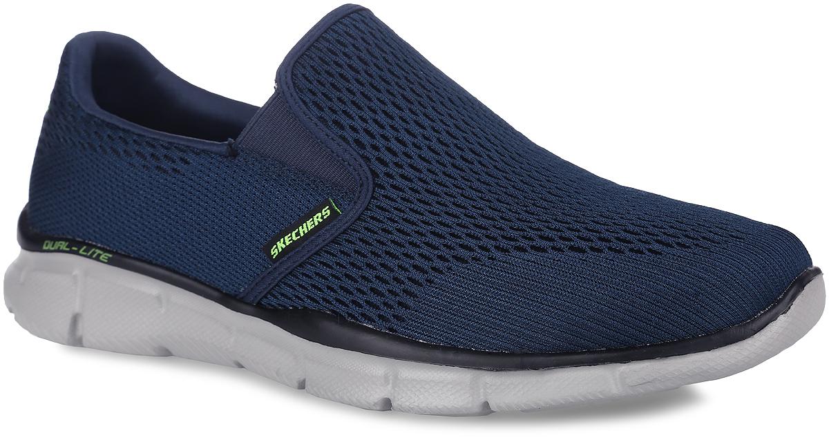 Кроссовки мужские Equalizer - Double Play. 5150951509-BKWЛегкие мужские кроссовки Equalizer - Double Play от Skechers отлично подойдут для спорта и отдыха. Модель выполнена из прочного, хорошо вентилируемого текстиля, задник оформлен логотипом бренда. Кроссовки на подъеме дополнены эластичными вставками. В этой обуви также используется специальная стелька с эффектом памяти - Memory Foam, которая после деформации, быстро возвращается в свою первоначальную форму. Специальная подошва Dual-Lite обеспечивает отличную амортизацию и устойчивость во время движения.