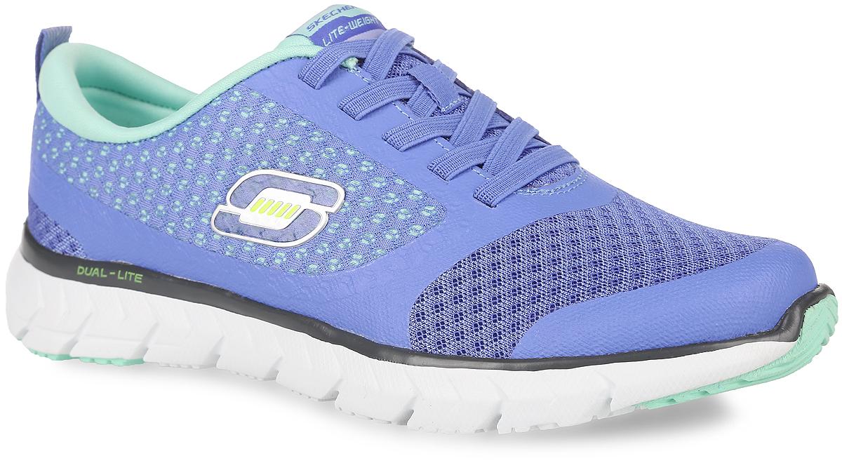 12144-BBKЖенские кроссовки Soleus-Intriguing Notion от Skechers предназначены для занятий спортом и повседневного использования. Модель выполнена из прочной, хорошо вентилируемой текстильной сетки и синтетической кожи, сбоку оформлена логотипом бренда. Эластичная шнуровка в области подъема гарантирует надежную фиксацию обуви на ноге. Подошва Dual-Lite обеспечивает поглощение ударов, а также устойчивость во время движения, а специальная стелька Memory Foam, обеспечивает дополнительный комфорт, повторяя форму стопы за счет специальной пены, которой она заполнена.