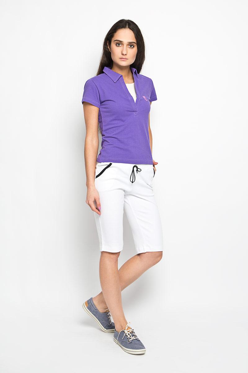Шорты женские. М-106М-106Стильные удлиненные шорты Original выполнены из натурального хлопка. Материал изделия мягкий и приятный на ощупь, не сковывает движения и позволяет кожу дышать. Модель на поясе имеет широкую эластичную резинку, регулируемую шнурком. Шорты дополнены втачными карманами спереди. Модные шорты - незаменимая вещь в летнем гардеробе каждой девушки.