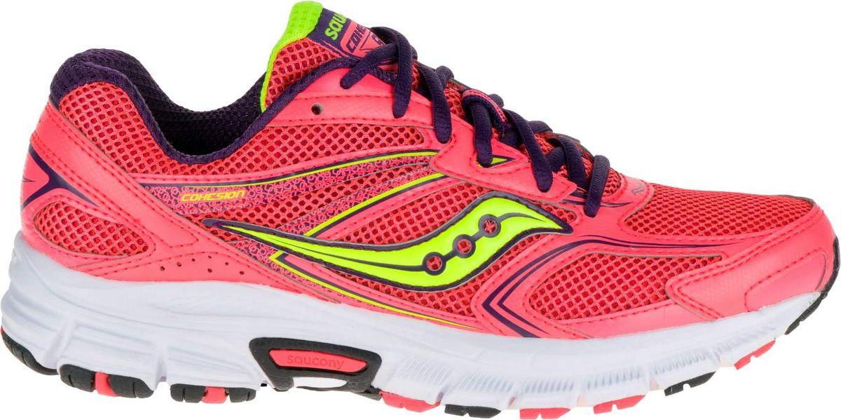 Кроссовки женские для бега. S15262-4S15262-4Новые женские кроссовки Saucony Grid Cohesion 9 отличный выбор для бега. Вы полюбите ощущения комфорта и чувствительности при занятиях спортом. Технология GRID создает стабильность, амортизирующая подошва XT-600 и дышащая сетка дают комфорт от бега в течении всего дня.