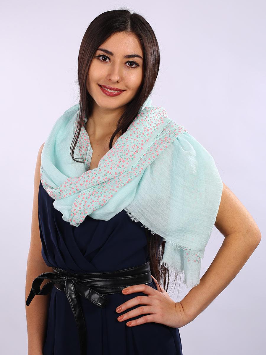 Палантин3413601-01Элегантный женский палантин Venera изготовлен из вискозы и шелка. Палантин имеет отличное качество и приятную текстуру материала, он подарит настоящий комфорт при носке, а большие размеры позволят согреться в прохладную погоду. Изделие оформлено мелким цветочным принтом и декоративной бахромой по краям. Этот модный аксессуар женского гардероба гармонично дополнит образ современной женщины, следящей за своим имиджем и стремящейся всегда оставаться стильной и элегантной. В этом палантине вы всегда будете выглядеть женственной и привлекательной.