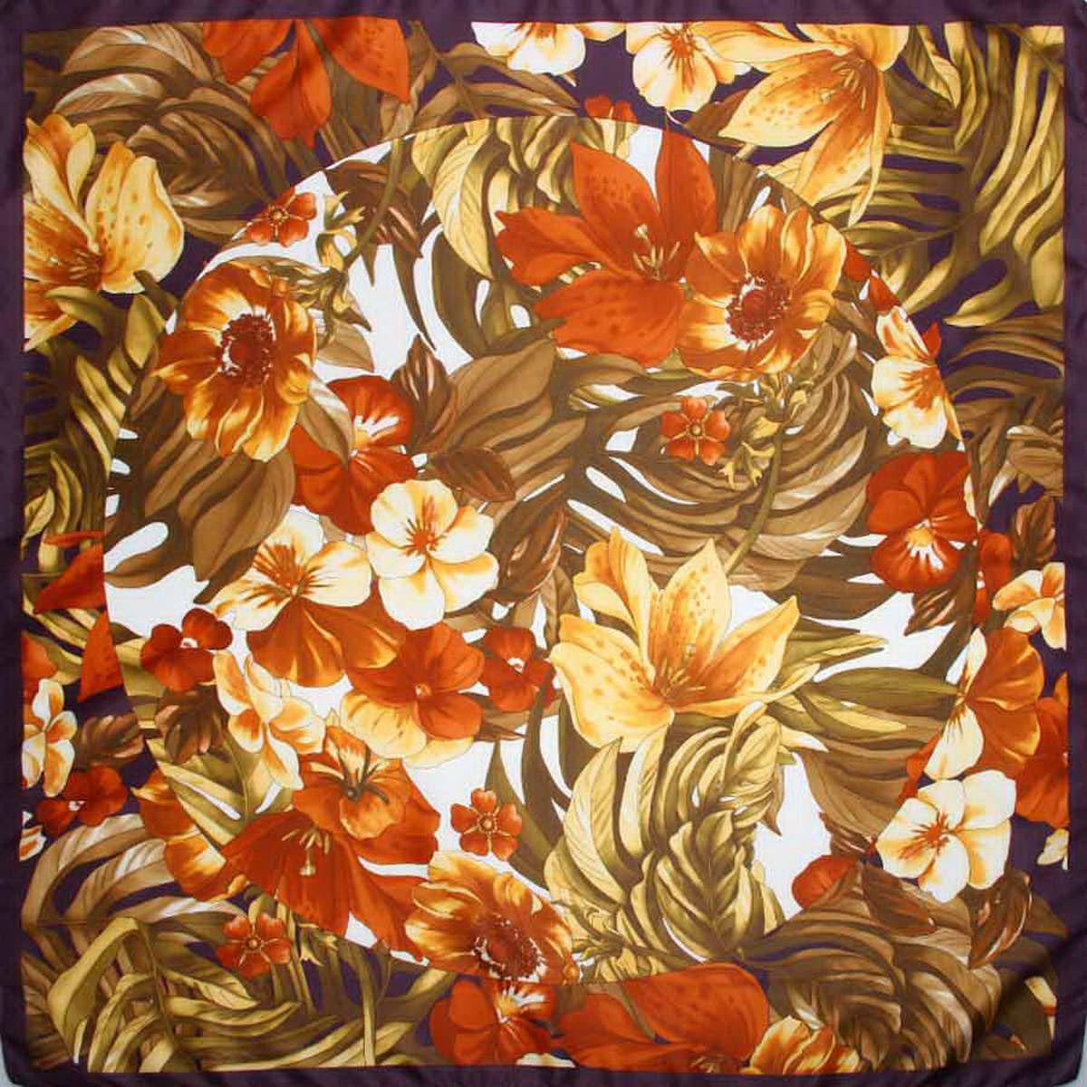 Платок3904972-12Стильный женский платок Venera станет великолепным завершением любого наряда. Платок, изготовленный из полиэстера, оформлен цветочный принтом. Классическая квадратная форма позволяет носить платок на шее, украшать им прическу или декорировать сумочку. Легкий и приятный на ощупь платок поможет вам создать изысканный женственный образ. Такой платок превосходно дополнит любой наряд и подчеркнет ваш неповторимый вкус и элегантность.