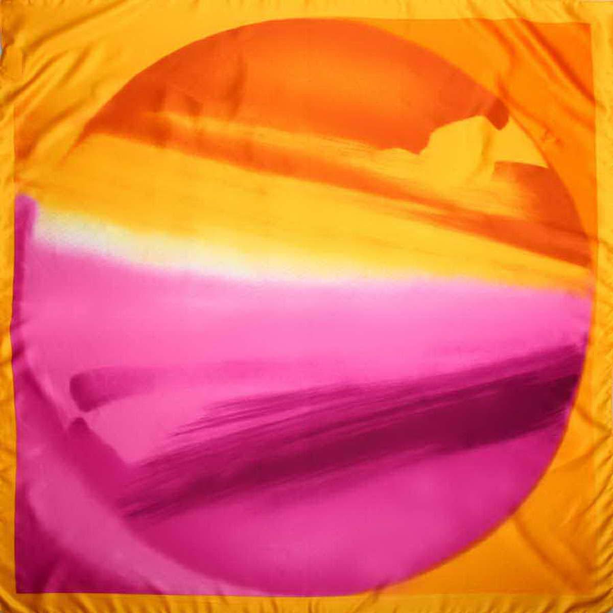 Платок3906733-13Стильный женский платок Venera станет великолепным завершением любого наряда. Платок, изготовленный из полиэстера, оформлен оригинальным принтом. Классическая квадратная форма позволяет носить платок на шее, украшать им прическу или декорировать сумочку. Легкий и приятный на ощупь платок поможет вам создать изысканный женственный образ. Такой платок превосходно дополнит любой наряд и подчеркнет ваш неповторимый вкус и элегантность.