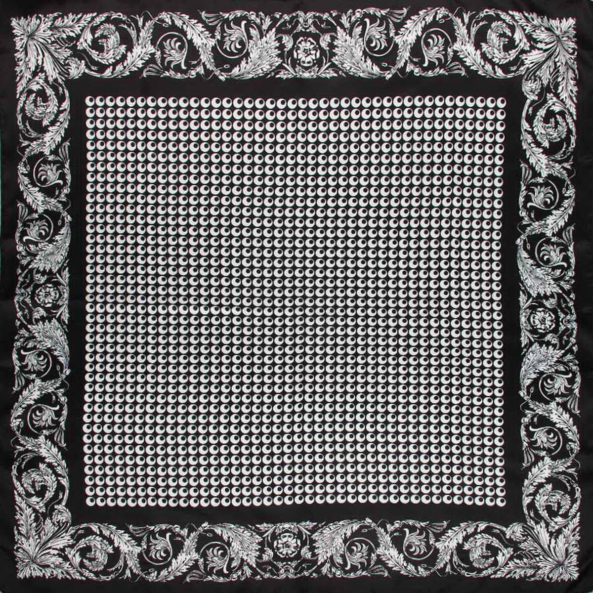 Платок3913783-11Стильный платок Venera станет отличным завершением вашего образа. Платок, выполненный из полиэстера, согреет вас в прохладную погоду, а необычный принт создаст эффектный образ и внесет изюминку в наряд. Этот модный аксессуар не оставит равнодушной ни одну современную модницу. В этом платке вы всегда будете выглядеть женственной и привлекательной.