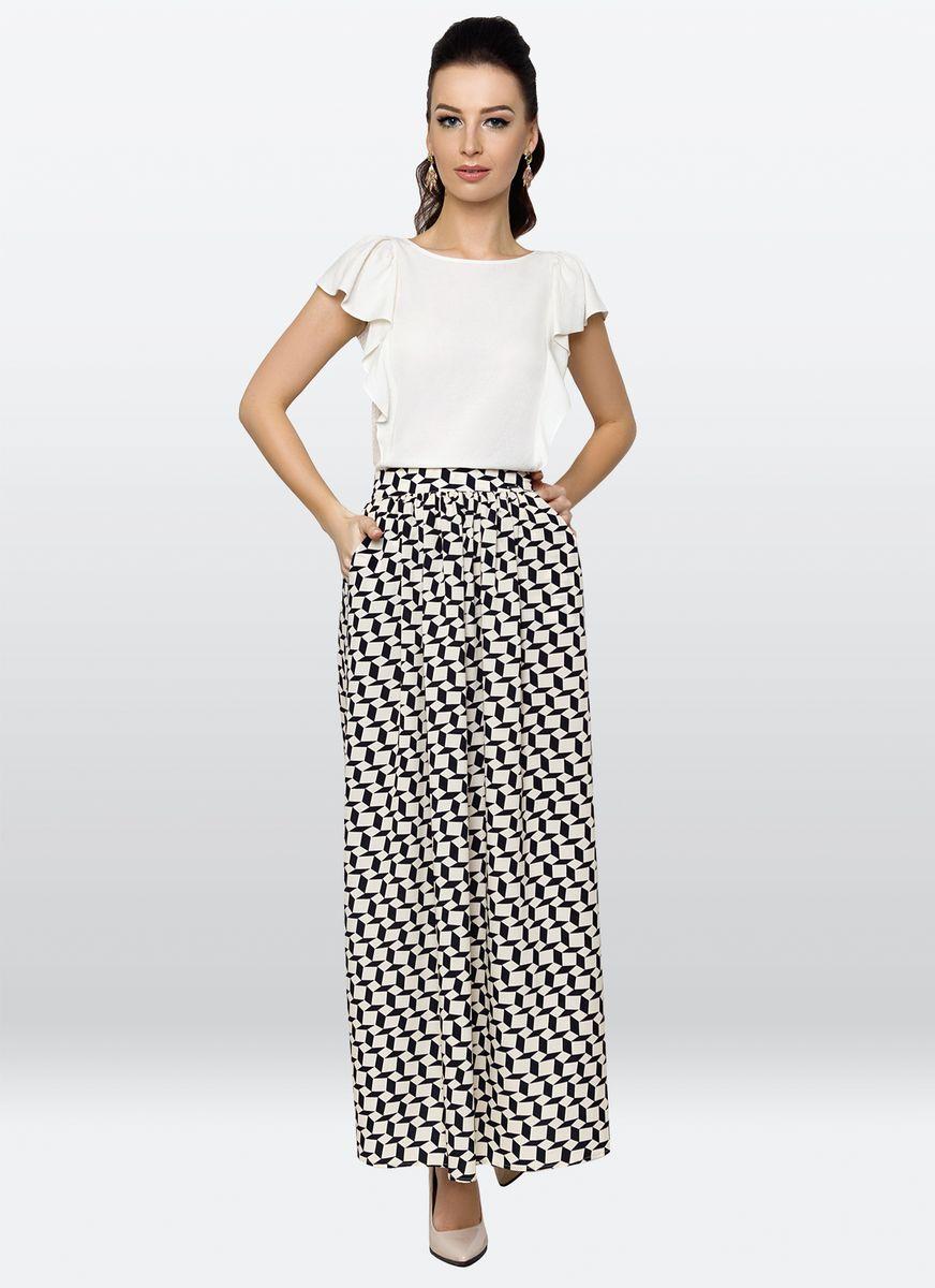 Юбка жен. 27392739Длинная юбка, которая является «must have» очередного сезона. Легкая ткань с отчетливым симметричным узором делает юбку не только стильной, но и практической.