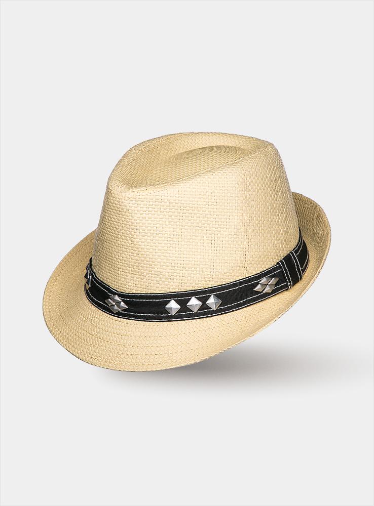 1962100Летняя шляпа Canoe Sam имеет оригинальную фактуру и непременно украсит любой наряд. Шляпа из искусственной соломы декорирована ковбойской лентой с металлическими элементами вокруг тульи. Благодаря своей форме, шляпа удобно садится по голове и подойдет к любому стилю. Шляпа легко восстанавливает свою форму после сжатия. Такая шляпа подчеркнет вашу неповторимость и дополнит ваш повседневный образ.