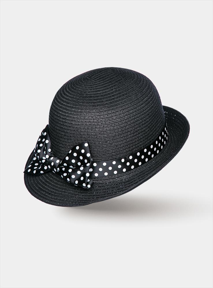 Шляпа женская Galliya1962951Элегантная женская шляпа Canoe Galliya с короткими полями в стиле 30-ых годов непременно украсит любой наряд. Шляпа из искусственной соломы оформлена вокруг тульи атласной лентой в мелкий горошек с большим, словно крылья экзотической бабочки, бантом. Благодаря своей форме, шляпа удобно садится по голове и подойдет к любому стилю. Такая шляпа подчеркнет вашу неповторимость и дополнит ваш повседневный образ.