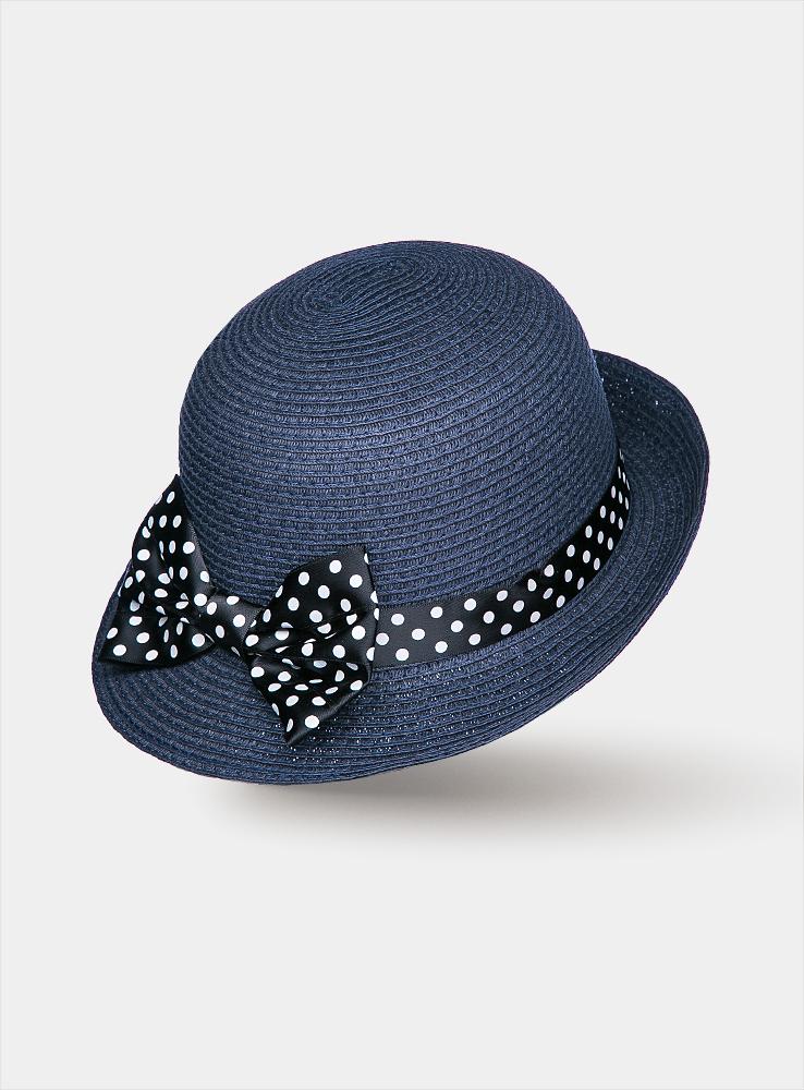 Шляпа1962951Элегантная женская шляпа Canoe Galliya с короткими полями в стиле 30-ых годов непременно украсит любой наряд. Шляпа из искусственной соломы оформлена вокруг тульи атласной лентой в мелкий горошек с большим, словно крылья экзотической бабочки, бантом. Благодаря своей форме, шляпа удобно садится по голове и подойдет к любому стилю. Такая шляпа подчеркнет вашу неповторимость и дополнит ваш повседневный образ.