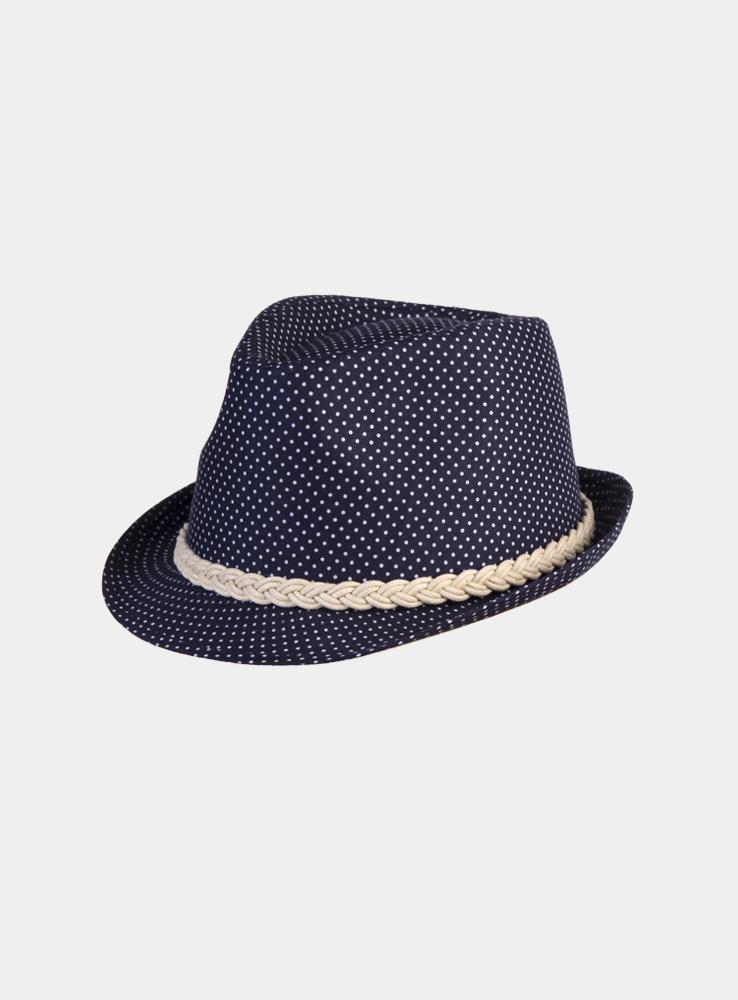 Шляпа женская Gestiya. 19632571963257Модная шляпа-трилби Canoe Gestiya, выполненная из хлопка, украсит любой наряд. Шляпа оформлена плетеной лентой вокруг тульи и имеет оригинальную расцветку в горошек. Благодаря своей форме, шляпа удобно садится по голове и подойдет к любому стилю. Шляпа легко восстанавливает свою форму после сжатия. Такая шляпка подчеркнет вашу неповторимость и дополнит ваш повседневный образ.