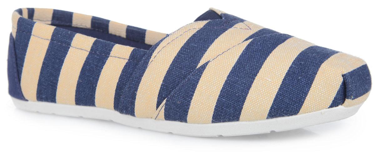 Туфли женские. SM2371_03_19_BLUESM2371_03_19_BLUEТрендовые туфли от Spur покорят вас с первого взгляда. Модель выполнена из плотного текстильного материала, оформленного контрастными полосками. На подъеме обувь дополнена эластичной вставкой, на заднике - фирменной кожаной нашивкой. Подкладка, изготовленная из текстиля, гарантирует уют и предотвращает натирание. Стелька из ЭВА материала с верхним покрытием из натуральной кожи обеспечит комфорт. Стелька дополнена перфорацией для лучшей воздухопроницаемости. Подошва оснащена рифлением для лучшего сцепления с поверхностями. Стильные туфли внесут яркие нотки в ваш модный образ!