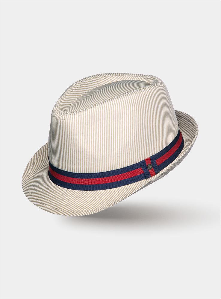 Шляпа1963381Модная шляпа-трилби Canoe Still, выполненная из хлопка, украсит любой наряд. Шляпа оформлена контрастной лентой вокруг тульи и имеет оригинальную расцветку в изящную полоску. Благодаря своей форме, шляпа удобно садится по голове и подойдет к любому стилю. Шляпа легко восстанавливает свою форму после сжатия. Такая шляпка подчеркнет вашу неповторимость и дополнит ваш повседневный образ.