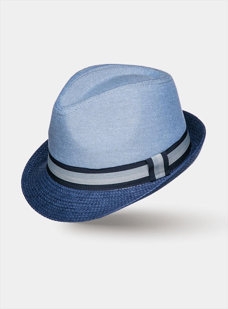 Шляпа мужская Haiti1963551Классическая шляпа Canoe Haiti непременно украсит любой наряд. Тулья шляпы из натурального хлопка, а поля из искусственной соломы. Модель оформлена трикотажным контрастным ремешком вокруг тульи. Благодаря своей форме, шляпа удобно садится по голове и подойдет к любому стилю. Шляпа легко восстанавливает свою форму после сжатия. Такая шляпа подчеркнет вашу неповторимость и дополнит ваш повседневный образ.