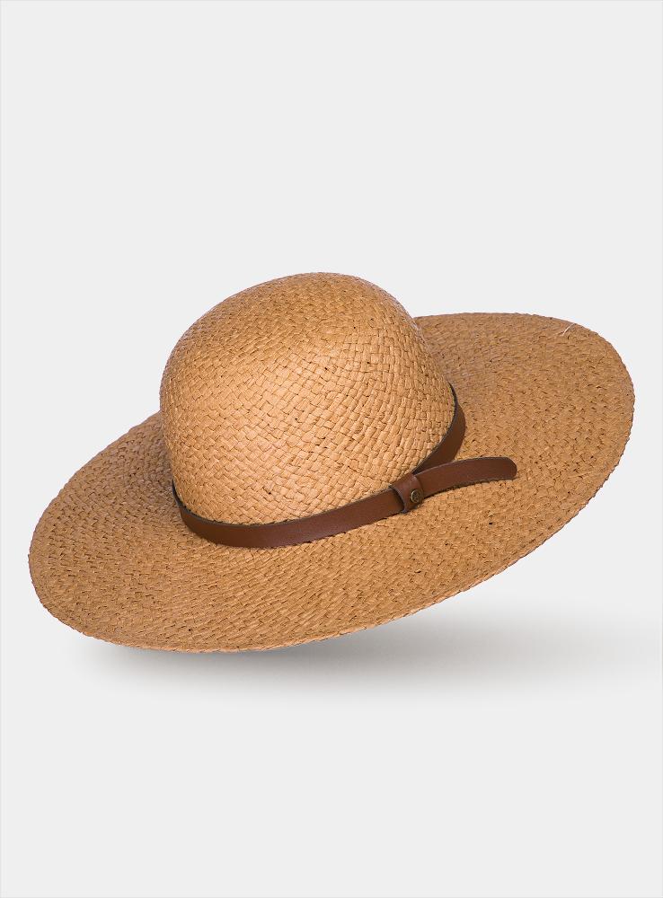 Шляпа1964410Очаровательная женская шляпа Canoe Cecile, выполненная из искусственной соломы, станет незаменимым аксессуаром для пляжа и отдыха на природе. Широкие поля шляпы обеспечат надежную защиту от солнечных лучей. Шляпа оформлена декоративным ремешком из искусственной кожи. Плетение шляпы обеспечивает необходимую вентиляцию и комфорт даже в самый знойный день. Шляпа легко восстанавливает свою форму после сжатия. Стильная шляпа с элегантными волнистыми полями подчеркнет вашу неповторимость и дополнит ваш повседневный образ.