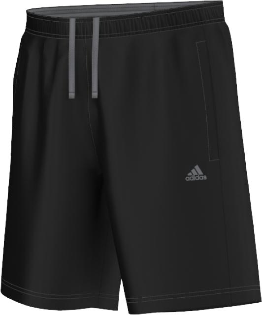 Шорты для фитнеса мужские. S21939S21939Спортивные шорты от adidas Performance выполнены из легкого текстиля. Технология ClimaLite поглощает излишки влаги и оставляет кожу сухой. Детали: эластичный пояс со шнурком, карманы по бокам, сетчатая подкладка.