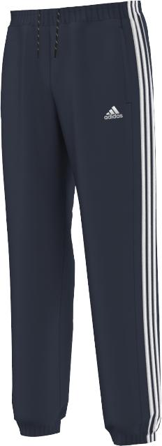 Брюки спортивные мужские. AK1611AK1611БРЮКИ ESSENTIALS 3-STRIPES Новый взгляд на базовые вещи для тренировок: эти мужские спортивные штаны выполнены из уютного трикотажа climalite, который эффективно отводит влагу от поверхности кожи. Ультра-мягкие, с эластичными манжетами и плоскими швами, предотвращающими раздражение кожи. Длина по внутреннему шву 79 см (размер 50) Ткань Climalite отводит влагу с поверхности кожи Боковые карманы с оторочкой Двухцветные завязки на поясе; эластичные манжеты Плоские швы предотвращают раздражение кожи