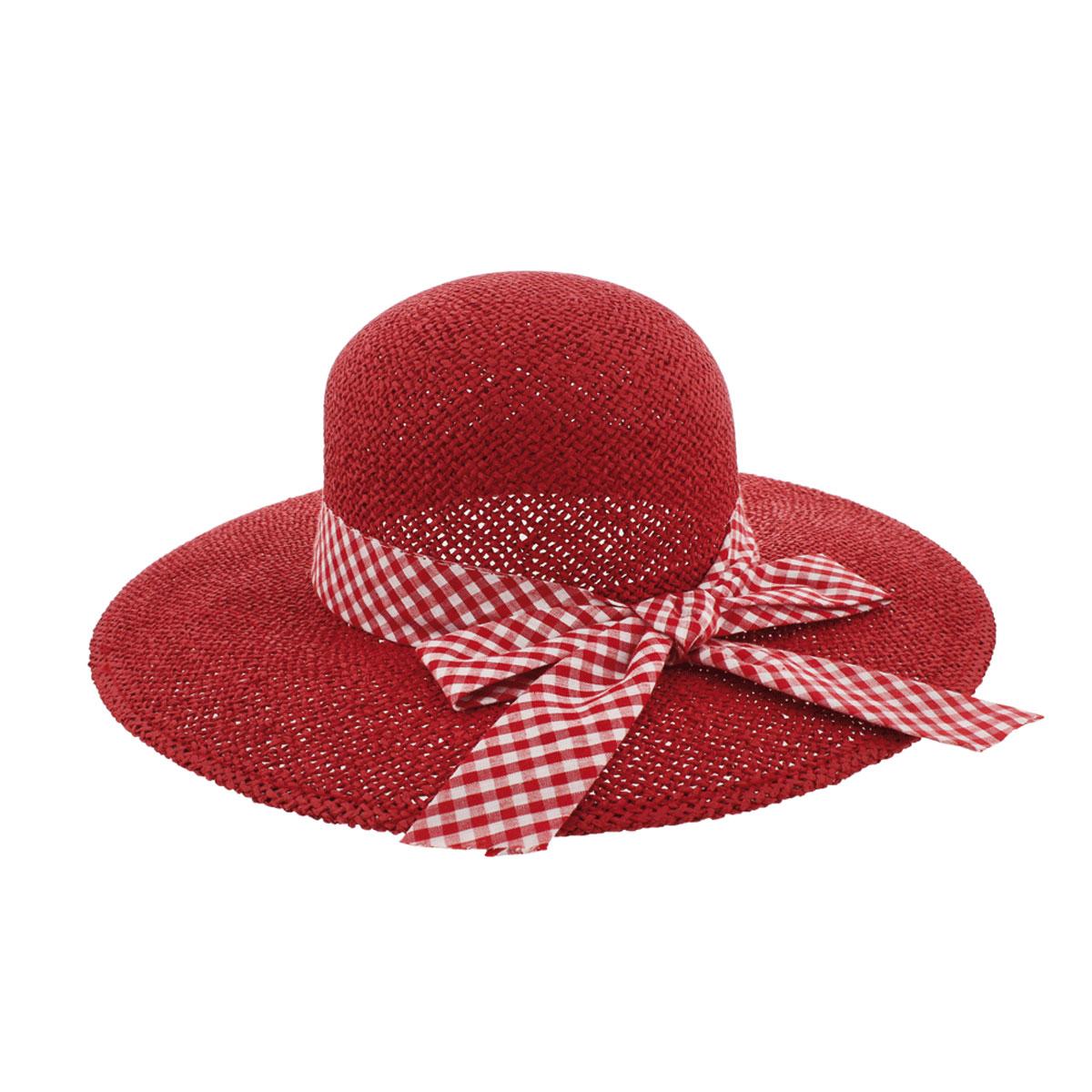 Шляпа77-100-17-57Широкополая шляпа R.Mountain Clara украсит любой наряд. Она дополнена вокруг тульи широкой лентой с принтом в клетку, завязанной в бант. Благодаря своей форме, шляпа удобно садится по голове и подойдет к любому стилю. Модель легко восстанавливает свою форму после сжатия. Такая шляпка подчеркнет вашу неповторимость и дополнит ваш повседневный образ.