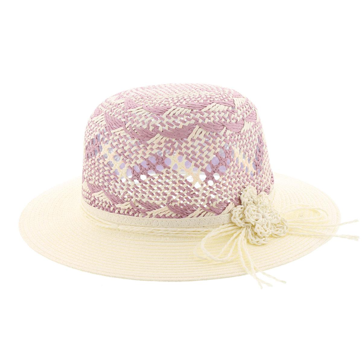 Шляпа женская Clara. 77-09877-098-32Летняя женская шляпа R.Mountain Clara станет незаменимым аксессуаром для пляжа и отдыха на природе. Такая шляпка не только защитит вас от солнца, но и станет стильным дополнением вашего образа. Шляпа оформлена небольшим металлическим логотипом фирмы и небольшим декоративным цветком. Плетение шляпы обеспечивает необходимую вентиляцию и комфорт даже в самый знойный день. Шляпа легко восстанавливает свою форму после сжатия. Эта элегантная легкая шляпка подчеркнет вашу неповторимость и дополнит ваш повседневный образ.