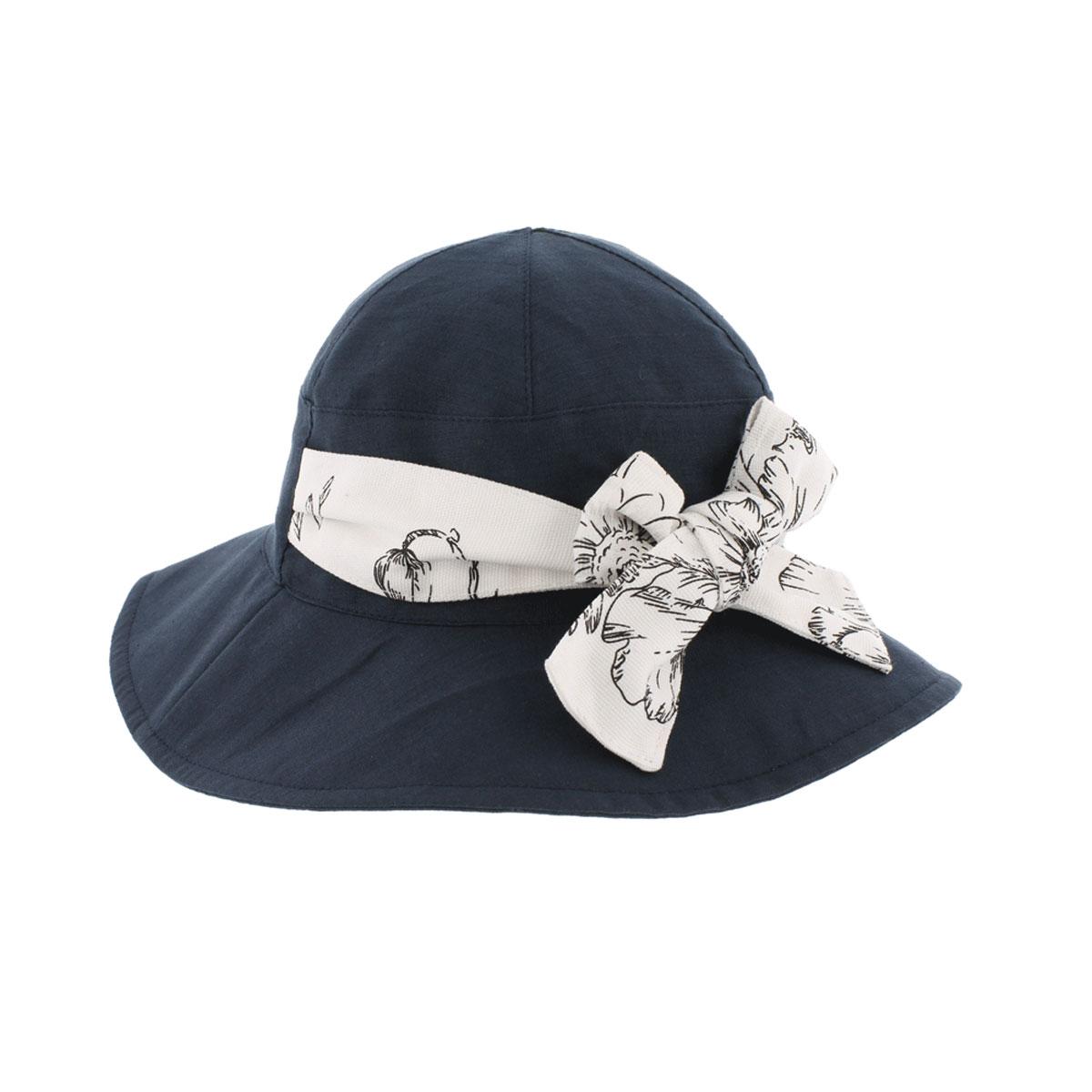 Шляпа77-080-34Легкая шляпа R.Mountain выполнена из натурального льна и хлопка. Яркая и стильная модель с широкой контрастной лентой вокруг тульи и восхитительным бантом. Эта шляпка подойдет к вашему пляжному летнему образу и защитит от яркого солнца.