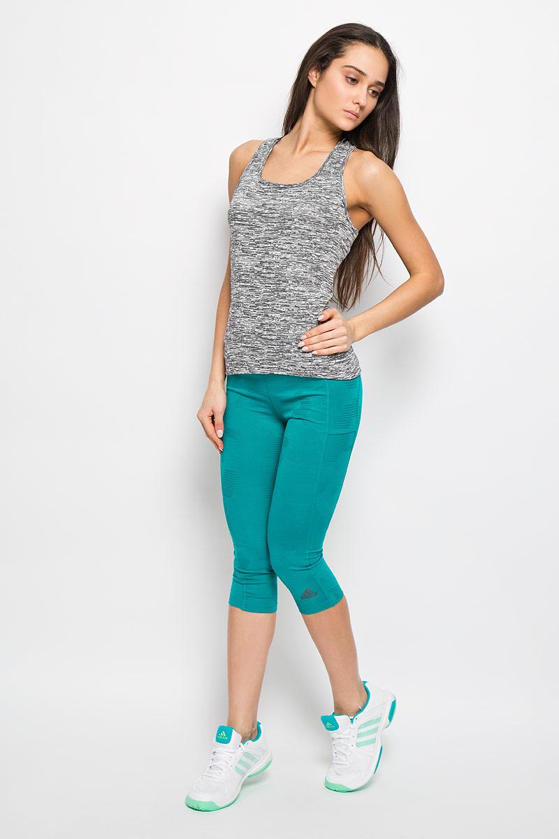 adidas Майка для бега женская SN Fitted TNK. AA5541