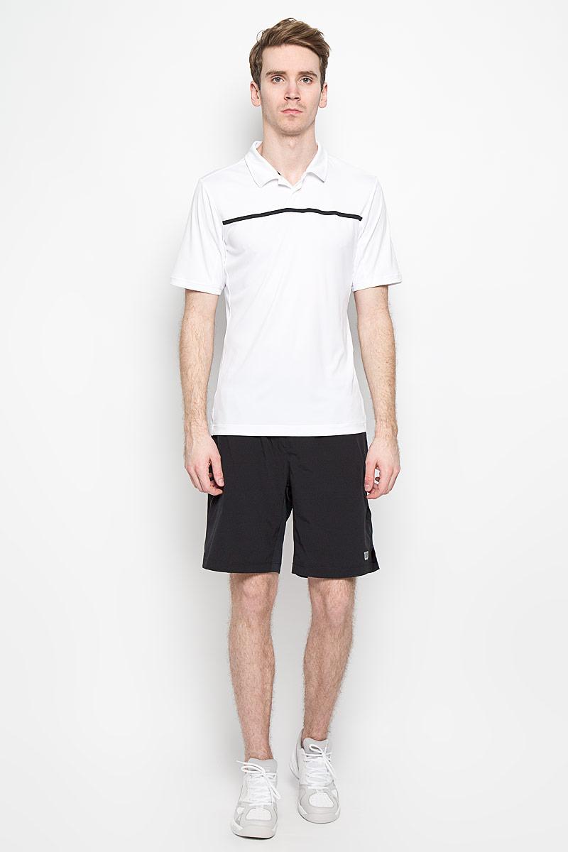 WRA725301Стильная мужская футболка для тенниса Wilson Rush Color Inset Polo, выполненная из полиэстера, обладает высокой теплопроводностью, воздухопроницаемостью и гигроскопичностью и великолепно отводит влагу, оставляя тело сухим даже во время интенсивных тренировок. Такая футболка превосходно подойдет для занятий спортом и активного отдыха. Модель с короткими рукавами и отложным воротником - идеальный вариант для занятий спортом. Такая футболка обеспечит свободу движений. Дополнительная вентиляция предусмотрена для лучшего воздухообмена. Эргономичные швы минимизируют натирание кожи, исключая дискомфорт. Бока модели и рукава дополнены перфорацией, сохраняя нормальную циркуляцию воздуха. Сверху футболка застегивается на две пластиковые пуговицы. Такая футболка подарит вам комфорт в течение всей игры и послужит замечательным дополнением к вашему гардеробу.