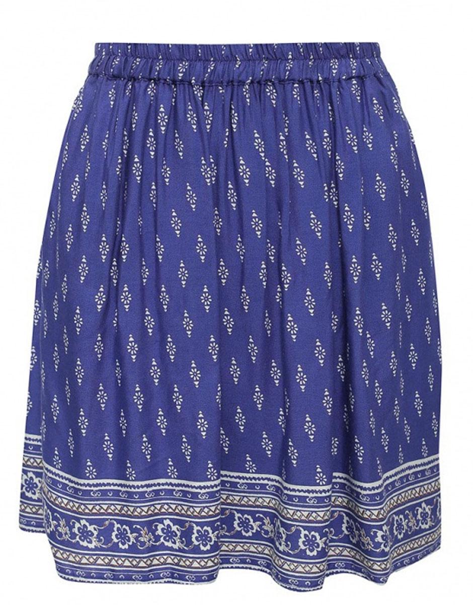 Юбка Casual. SK-118/805-6234SK-118/805-6234Эффектная юбка Sela Casual подчеркнет вашу женственность и неповторимый стиль. Легкая юбка выполнена из высококачественной 100% вискозы, благодаря чему она великолепно тянется, пропускает воздух и позволяет коже дышать. Благодаря эластичной резинке на талии юбка превосходно сидит и не сковывает движений. Боковые швы дополнены втачными карманами. От линии талии заложены складки, придающие модели пышность. Оформлено изделие мелким цветочным принтом и оригинальным рисунком по подолу. Модная юбка-миди выгодно освежит и разнообразит ваш гардероб. Создайте женственный образ и подчеркните свою яркую индивидуальность!
