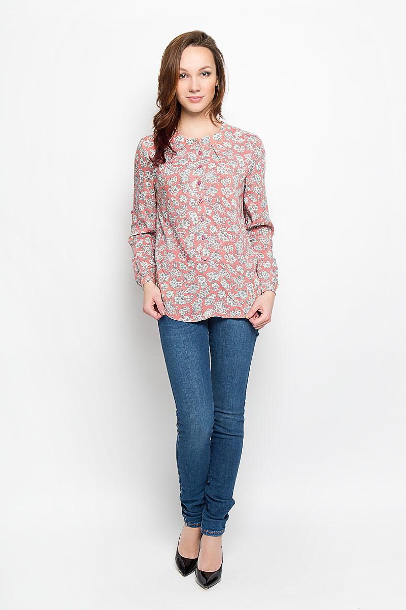 Блузка F5 160111_17329, Rayon, rose