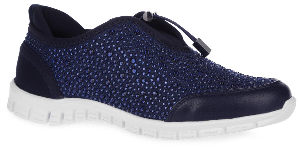 1133-007Чудесные кроссовки от Nobbaro придутся по душе вашей юной моднице. Модель выполнена из плотного текстильного материала и оформлена по верху стразами, на мыске - вставкой из искусственной кожи, на заднике - ярлычком для более удобного надевания обуви. Эластичная шнуровка с фиксатором, дополненная стильной фурнитурой, надежно зафиксирует изделие на ноге. Текстильная подкладка гарантирует уют и предотвратит натирание. Съемная стелька из ЭВА с текстильной верхней поверхностью обеспечит комфорт. Легкая подошва из ЭВА материала оснащена рифлением для лучшего сцепления с поверхностями. Стильные кроссовки внесут яркие нотки в модный образ!
