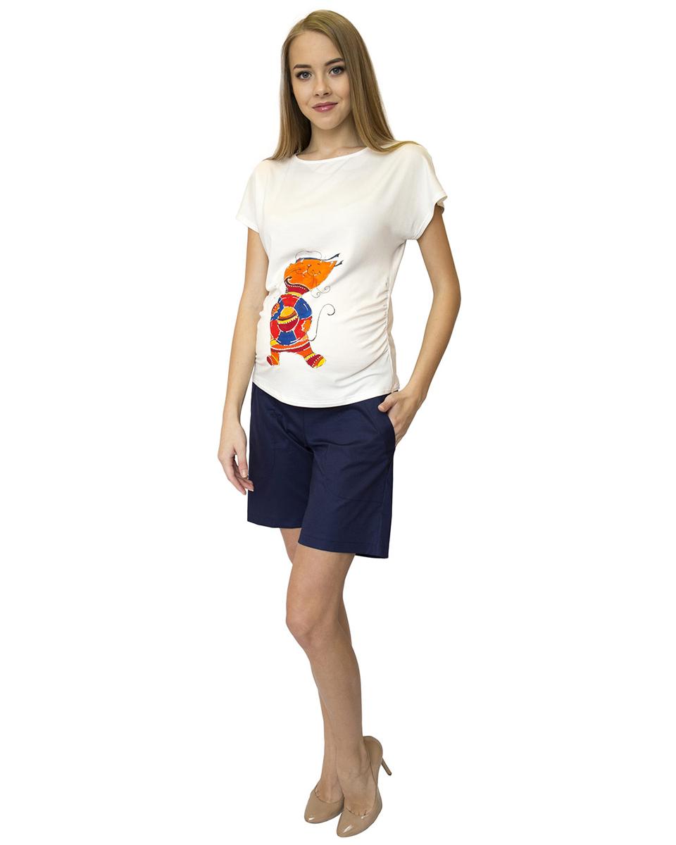 Шорты99516Удобные шорты прямого силуэта выполнены из натуральной ткани. Эластичный пояс позволяет носить данную модель на любом сроке беременности. Фэст - одежда по вашей фигуре.