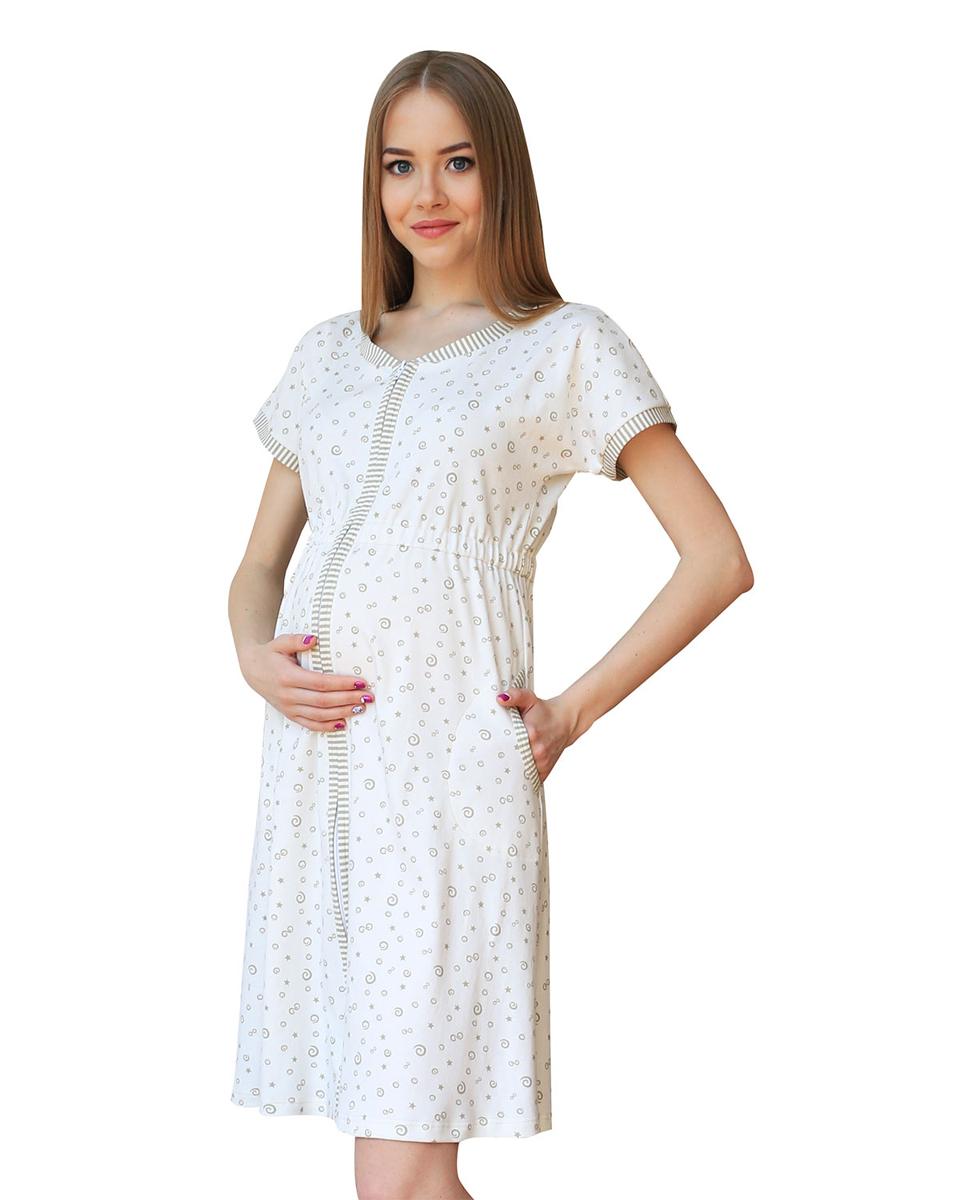 П54504Уютный халат на молнии с цельнокроеным рукавом выполнен из натурального полотна. По бокам имеются карманы. Фэст - одежда по вашей фигуре.
